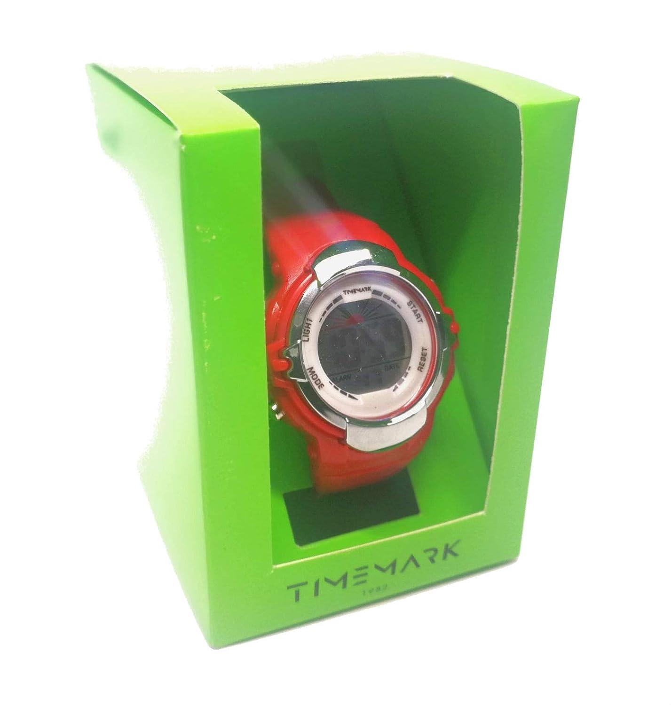 Reloj Infantil/Juvenil Celeste, Digital con luz, Alarma y ...
