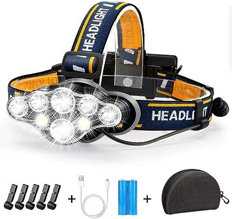 Super Hell 360000LM CREE LED stirnlampe SCHEINWERFER Kopflampe TASCHENLAMPE DHL
