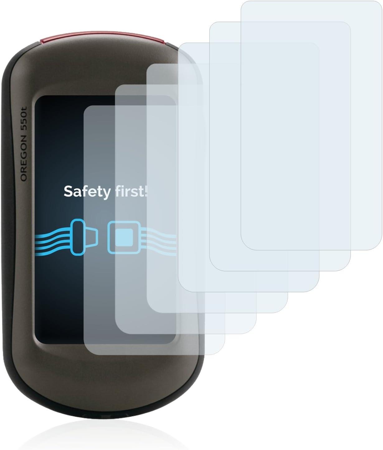 Pelicula Ultra Transparente 6 Unidades savvies Protector Pantalla Compatible con Tomtom GO 6250