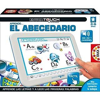 Educa Borrás–Tablet Educa Touch Junior for Learning The Alphabet (Spanish)