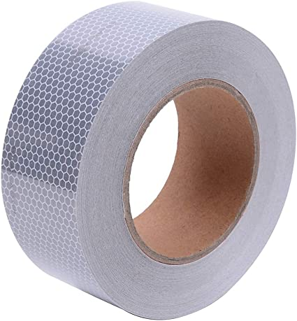 "WHITE  Reflective   Conspicuity  Tape 4/"" x 100 feet"