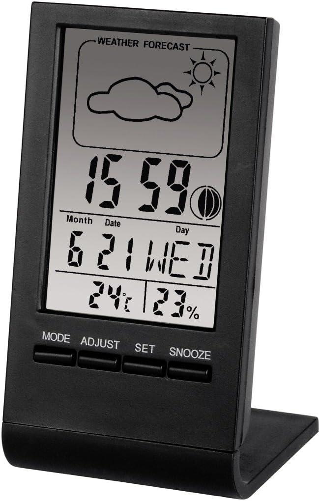 Hama TH-100 - Reloj de Mesa con termómetro