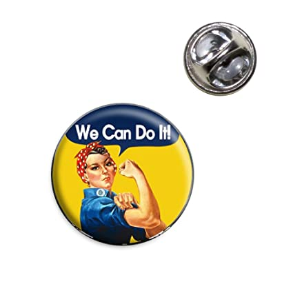 Amazon Rosie The Riveter We Can Do It Lapel Hat Tie Pin Tack