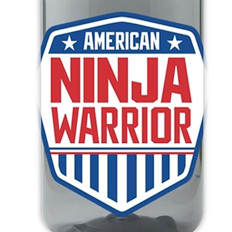 Amazon.com: American Ninja Warrior – Botella de agua: Sports ...