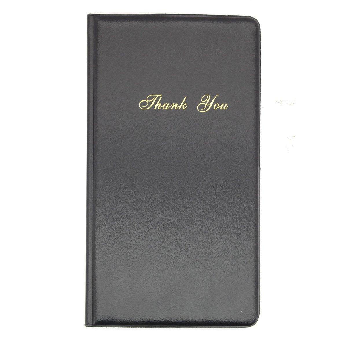 20PCS Check Presenter Restaurant Money Receipt Cover PU Leather-9''×4.7''