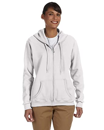 109e242164c Gildan Heavy Blend Ladies  Full-Zip Hooded Sweatshirt at Amazon ...