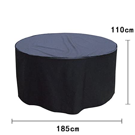 aulola round patio table covers outdoor waterproof cover heavy duty