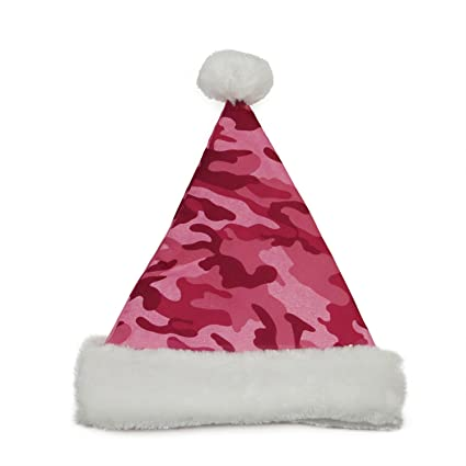 2ae7387cf82 Image Unavailable. Image not available for. Color  Northlight 14 quot  Pink  Camouflage Christmas Santa Hat - Medium