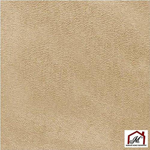 Mybecca Parchment Suede Microsuede Fabric with SCOTCHGARDÖ / SCOTCHGARD Protector Upholstery Drapery Fabric ( 5 yards ) by Mybecca