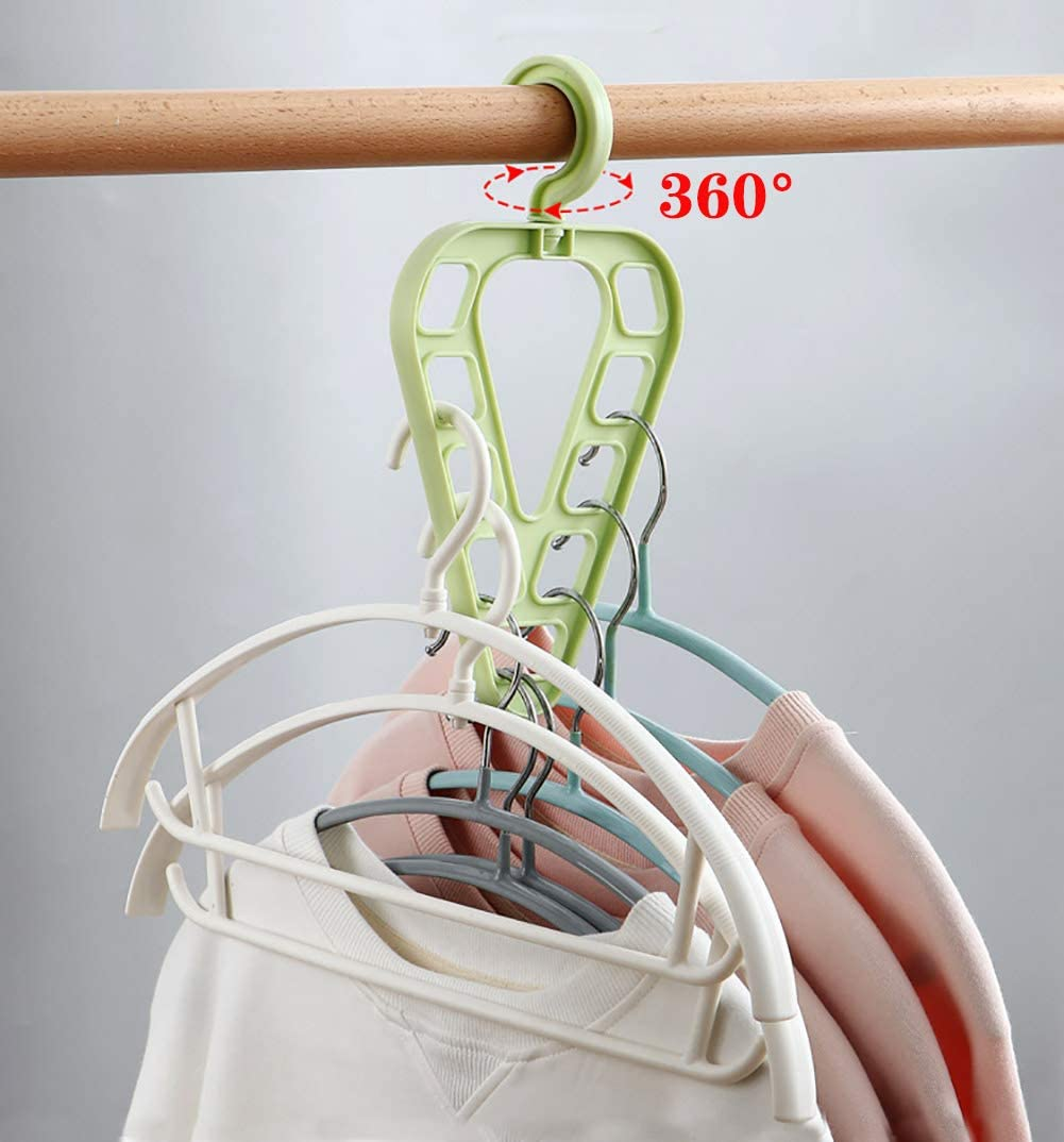 Colgador de Ropa Percha Multifuncional para Ropa Pantalones Accesorios para Ropa