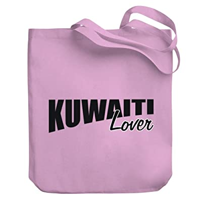 Teeburon Kuwaiti LOVER Canvas Tote Bag