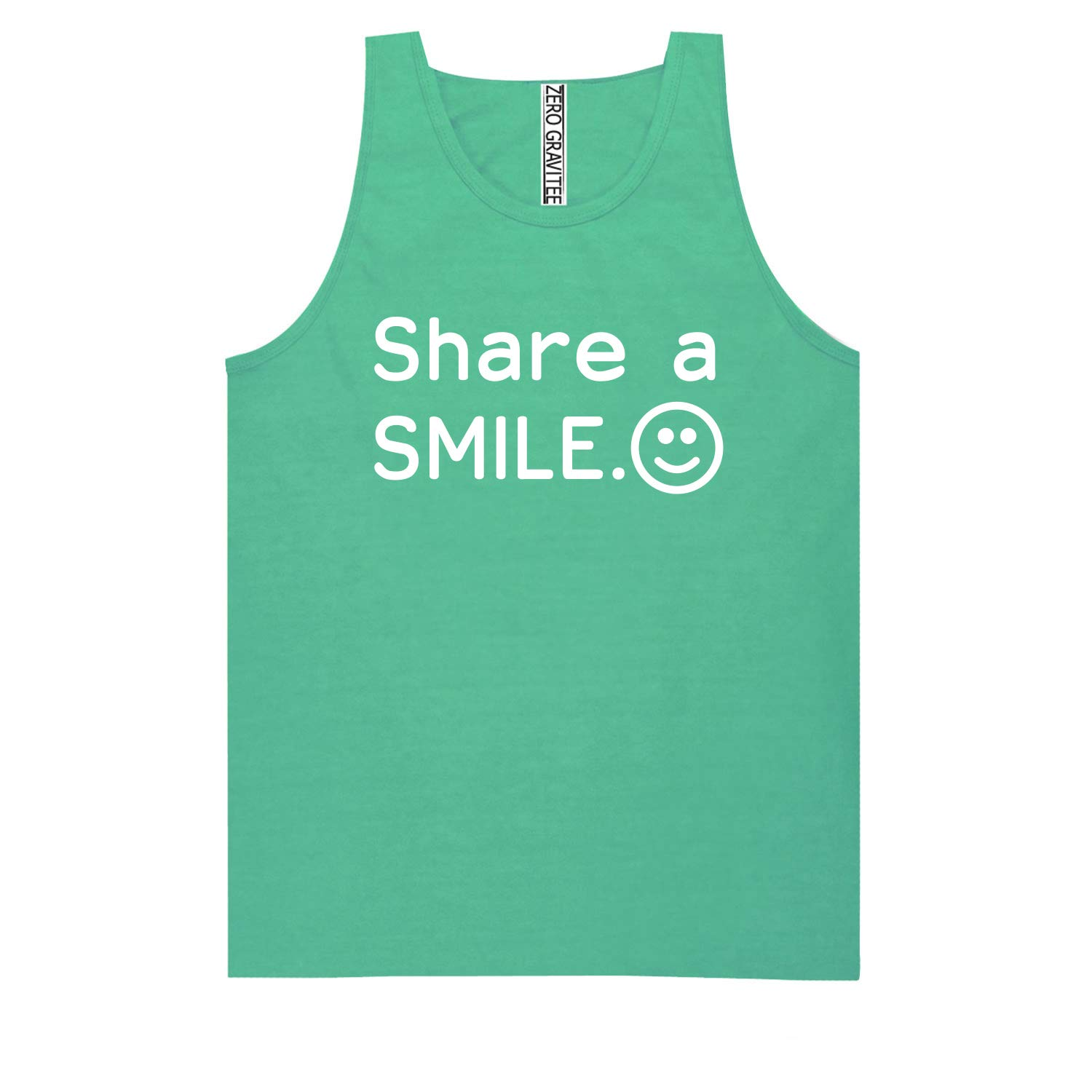Share A Smile Adult Pigment Dye Tank Top