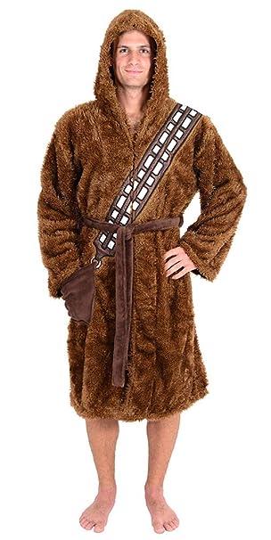 Chewbacca de Star Wars disfraz adulto Albornoz Standard ...