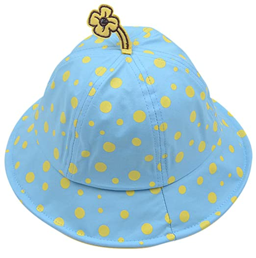 c9cb549ef767b Amazon.com  EPGM Baby s-Sun-Hat-Toddler s-UPF 50+-UV-Protective -Patterned-Short-Brim-Bucket-Hat  Clothing