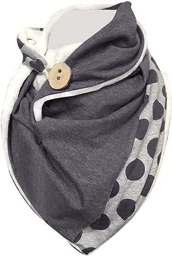 Bufandas Mujer Invierno Grande Bufanda Chal Cálido Bufandas Largas de Invierno, de de Punto Bufanda, Gorro Shawls Cuello Alto Bufanda, Textura Suave estolas