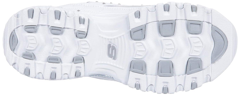 Skechers Damen Sneakers D´Lites Glamour Feels Weiß Weiß (Wsl)