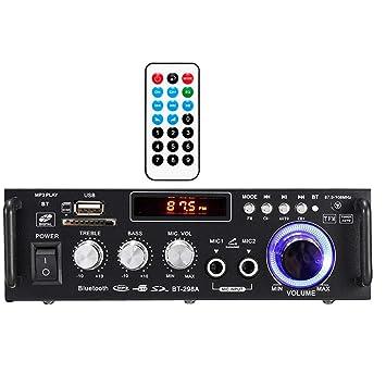 XMAGG® Amplificador HiFi 600 Vatios Compacto MP3 Conector ...