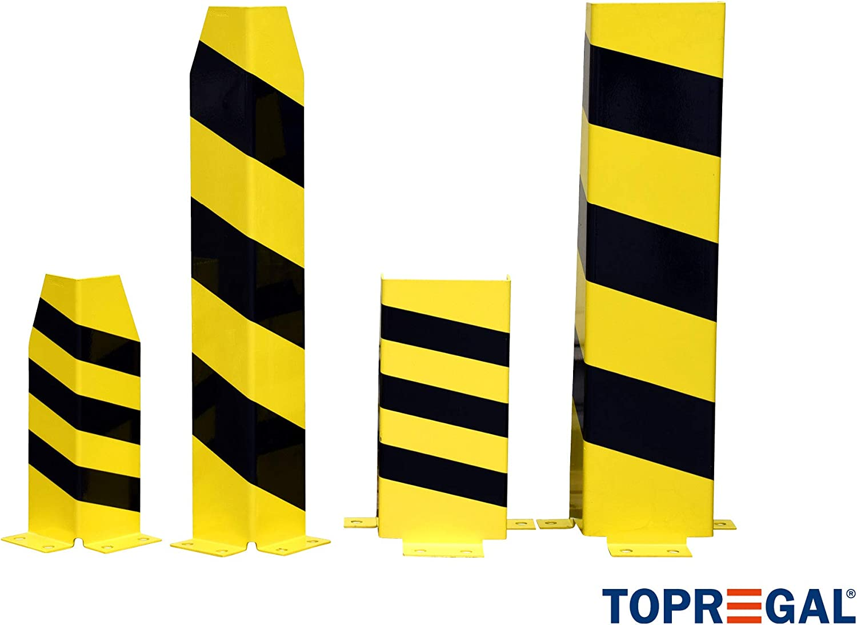 T/ÜV gepr/üft Bolzenanker 2x Rammschutz//Anfahrschutz in U-Form 40cm hoch inkl