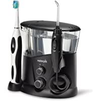 Waterpik WP-952 Complete Care 7.0 Water Flosser and Sonic Tooth Brush, Black