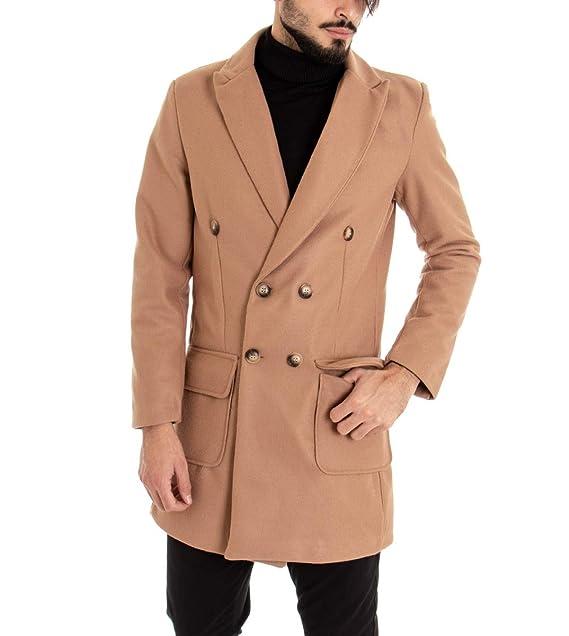 Amazon.it: cappotto doppiopetto uomo Beige