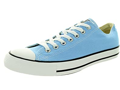 d516abc60a77 Converse Unisex Chuck Taylor All Star Low Top Blue Sky Sneakers - 6 B(M