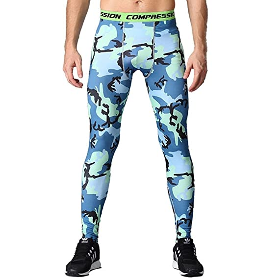 05c54c613b243 HOTIAN Men Camo Compression Pants Running Tights Quick-Drying Long  Leggings: Amazon.ca: Clothing & Accessories