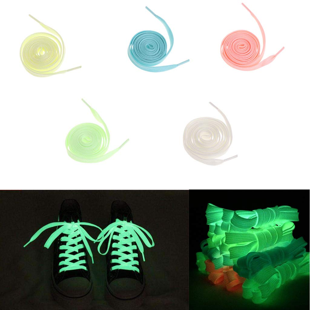 Shoes Humorous 120cm Fashion Sport Luminous Shoelace Toys Shoe Accessories Glow In The Dark Shoelace Night Running Gift At Any Cost