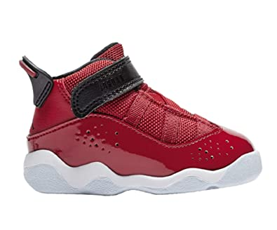 sale retailer 0b116 69dac Nike Jordan 6 Rings (TD) Baby-Boys Fashion-Sneakers 323420-601_9C - Gym  RED/Black-White