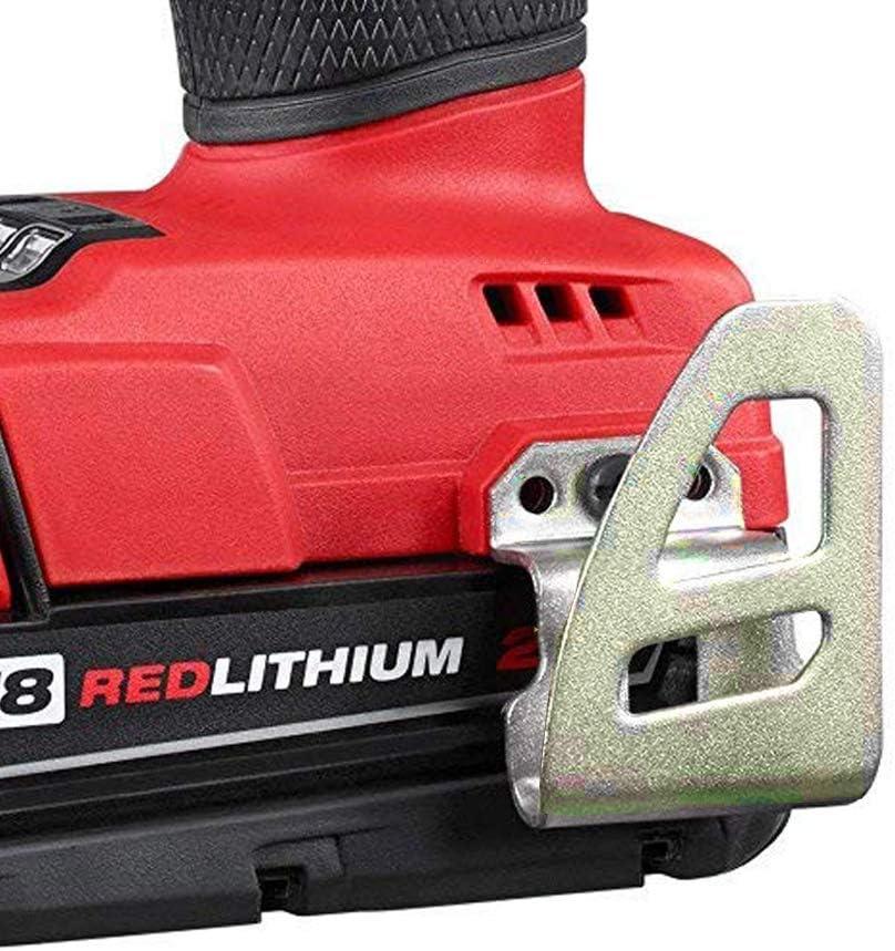 Pour Milwaukee 42-70-2653 M18 Carburant clip ceinture//crochet pour perceuses impacts