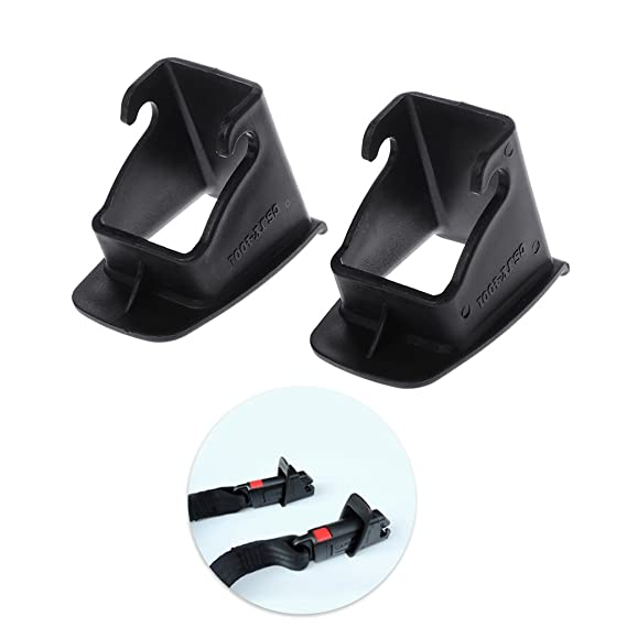 1 Pair Car Baby Seat ISOFIX Latch Belt Connector Guide Groove r