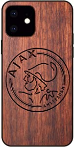AFC Ajax iPhone 11 Case - Fan Mahogany Protective Stylish & Eco-Friendly Wood Cover for iPhone 11