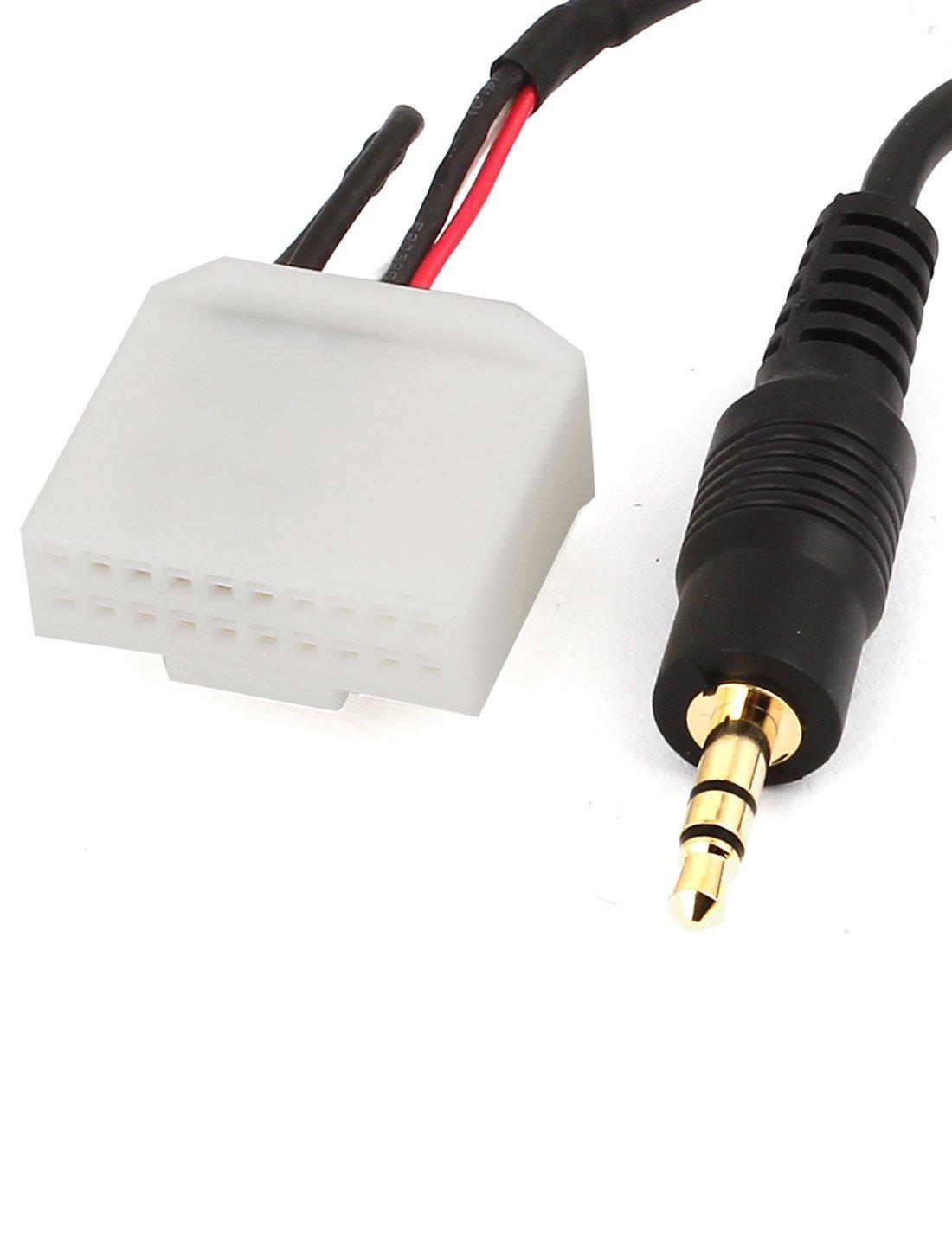 92cm long car speaker aux wire harness male adapter amazon co uk 92cm long car speaker aux wire harness male adapter amazon co uk electronics