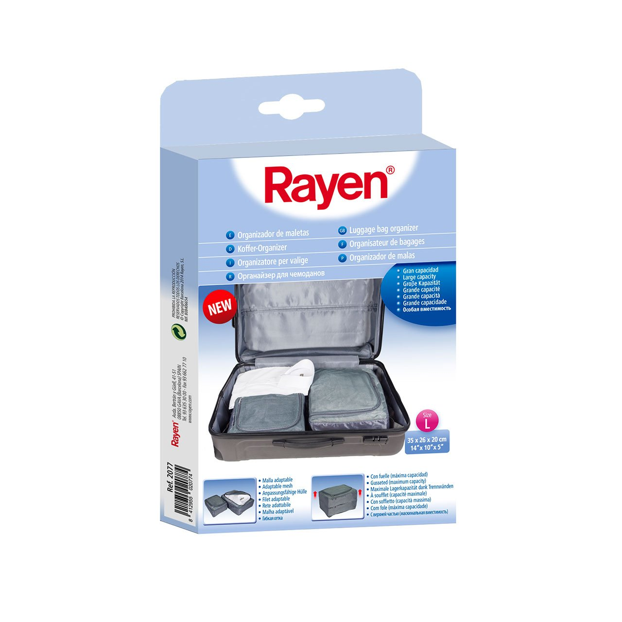 Amazon.com: RAYEN 2078 Case Organiser, 35 x 26 x 20 cm Grey: Kitchen & Dining