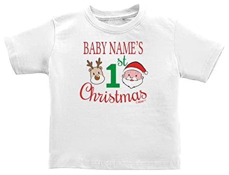 0832ca681 Amazon.com  Baby Gifts For All Personalized 1st Christmas Custom ...