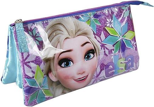 Disney Frozen- Estuche portatodo Plano (Artesanía Cerdá 2100001937): Amazon.es: Juguetes y juegos