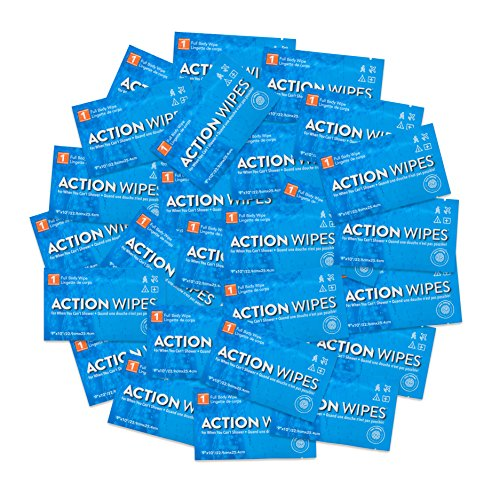 Life Elements Skin Cleansing Action Wipes - Pack of 25 by Action Wipes