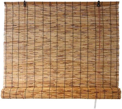 Persiana enrollable Sombrilla Cortina de aislamiento Persianas de ventana de estilo japonés Persianas Cortinas Persianas enrollables for jardín Patio Galería Balcón Decoración de la pared Opciones de: Amazon.es: Hogar