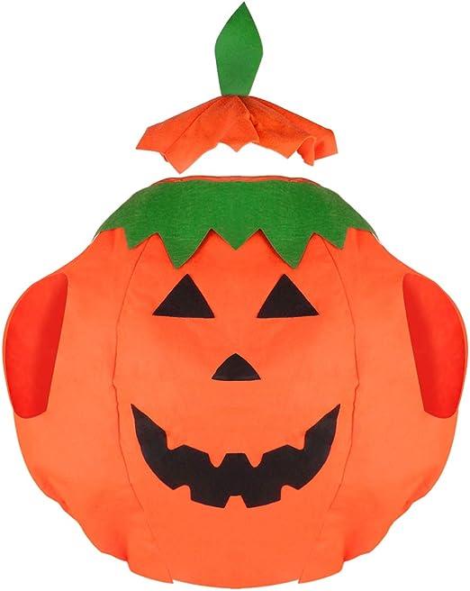 VORCOOL Funny Lantern Face Pumpkin Camisa de disfraz no tejida con ...
