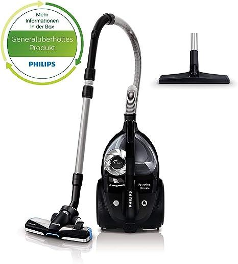 Philips FC9920/09 - Aspiradora de trineo sin bolsa, color negro y gris: Amazon.es: Hogar