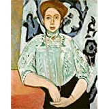 Oil painting 'Henri Matisse Portrait of Greta Moll ' printing on polyster Canvas , 8 x 10 inch / 20 x 26 cm ,the best Kids Room decoration and Home artwork and Gifts is this Imitations Art DecorativeCanvas Prints