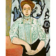 Oil Painting 'Henri Matisse Portrait Of Greta Moll ' Printing On Perfect Effect Canvas , 18 X 23 Inch / 46 X 58 Cm ,the Best Kitchen Decor And Home Decoration And Gifts Is This Amazing Art Decorative Canvas Prints
