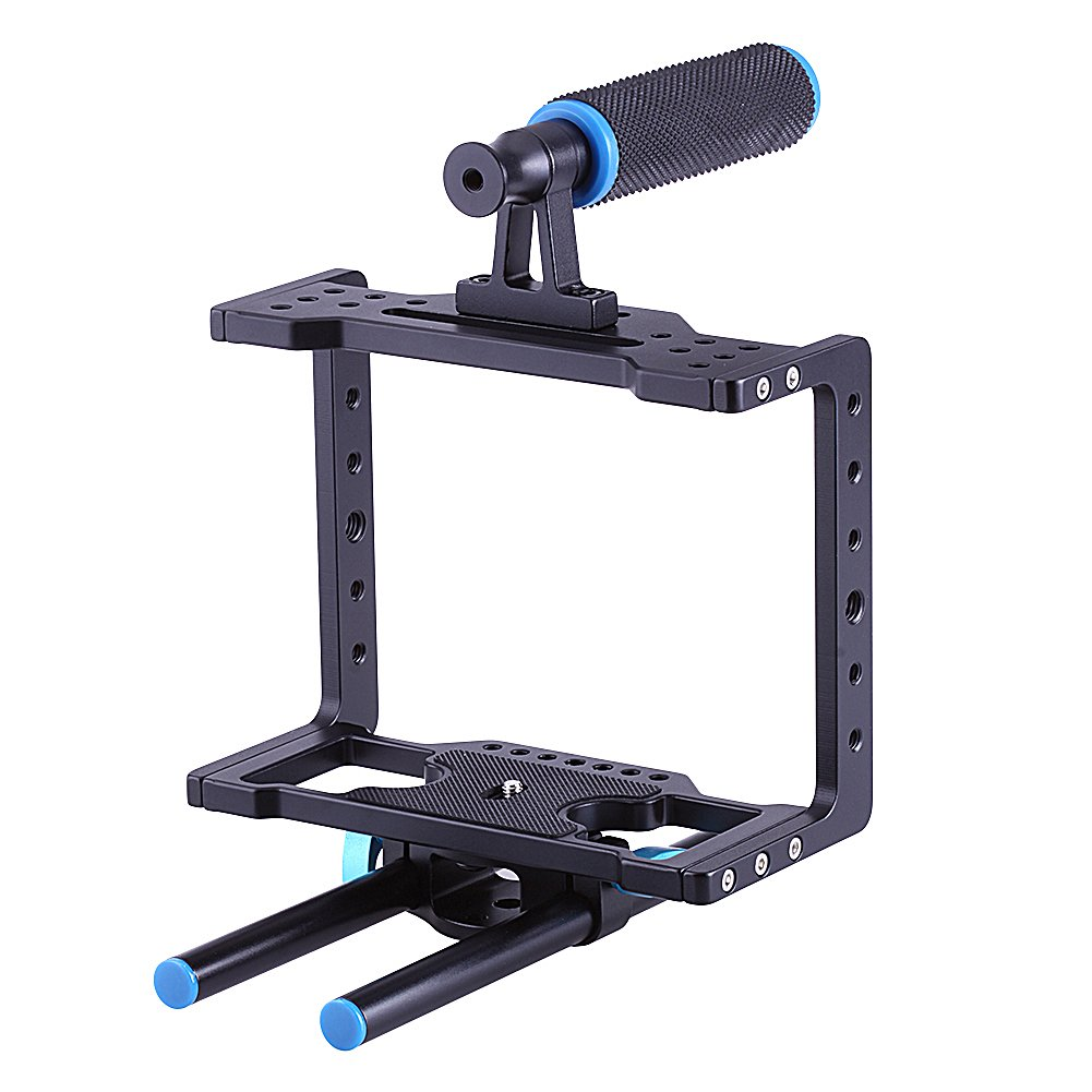 Neewer® Kit de Jaula para Vídeo Cámara Réflex Digital DSLR ...