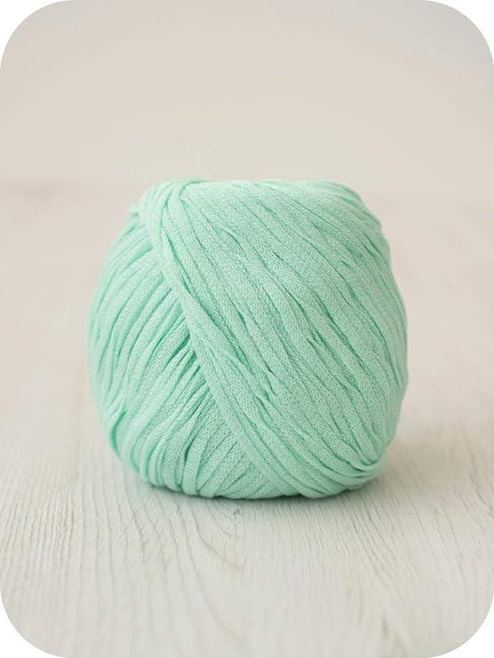 DHG hilo de algodón Sailorman, ovillo de algodón para tejer y ...