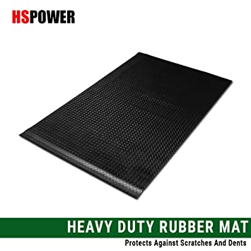 F250 Rubber Diamond Floor Mat Carpet Velocity Concepts Black Finished Flareside 6.5 Ft Short Truck Bed 1997-2003 for Ford F150