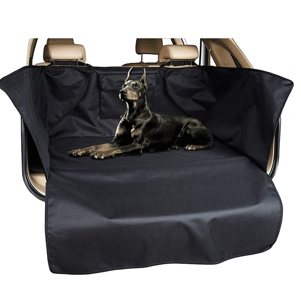 Black L Car Pet Pad Waterproof Oxford Cloth Dog Car Waterproof And Anti-dirty Tail Box Car Mat (color   Black L)
