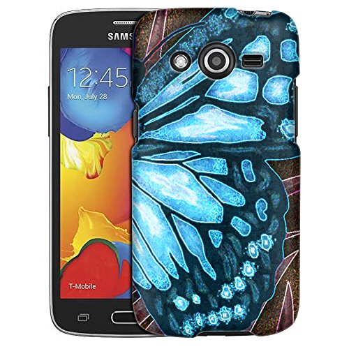 samsung-galaxy-avant-case-slim-fit-snap-on-cover-by-trek-butterfly-wing-blue-case