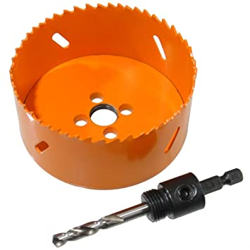 HSS Bi-Metall Lochsäge Ø 200 mm mit Adapter