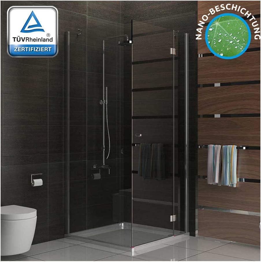 Alpenberger - Cabina de ducha completa de vidrio templado de ...
