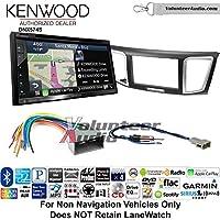 Volunteer Audio Kenwood DNX574S Double Din Radio Install Kit with GPS Navigation Apple CarPlay Android Auto Fits 2013-2014 Honda Civic