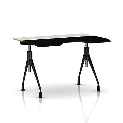 amazon com herman miller envelop desk glides white laminate rh amazon com herman miller desk light herman miller desk system